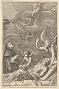 St. Nicolas Praying for a Dying Man
