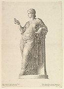 Ancient Statue of the Muse Thalia