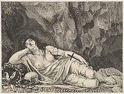 St. Mary Magdalen Reclining in a Grotto