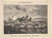 Salon de 1850-51; Paysage et Animaux, par Troyon