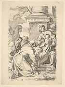The Adoration of the Magi (copy in reverse)