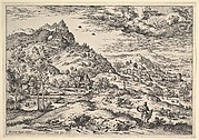 Landscape with Mercury Holding Argus's Head