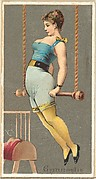 Gymnast, from the Occupations for Women series (N166) for Old Judge and Dogs Head Cigarettes