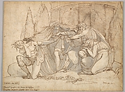 Oedipus Cursing his Son, Polyneikes