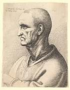 Bust of Man with Short Hair (An Old Man with a Knotted Neck-band)