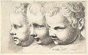 Three Children's Heads