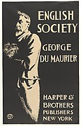ENGLISH / SOCIETY / GEORGE / DU MAURIER / HARPER & / BROTHERS / PUBLISHERS / NEW YORK