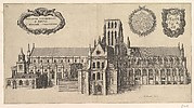 Saint Paul's, South side (Ecclesiae Cathedralis St. Pauli, A Meridi Prospectus)