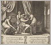 Nymphs Helping Psyche with Her Toilette, from The Fable of Psyche