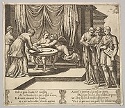 Other Nymphs Serving Psyche at the Table, from The Fable of Psyche
