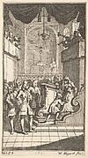 The New Metamorphosis, Plate 2: Fantasio at Church