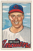 Bob Feller, Pitcher, Cleveland Indians, from Picture Cards, series 5 (R406-5) issued by Bowman Gum