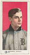 Rossman, Detroit, American League, from the White Border series (T206) for the American Tobacco Company