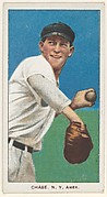 Chase, New York, American League, from the White Border series (T206) for the American Tobacco Company