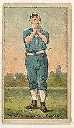 Sunday, Center Field, Chicago, from the Gold Coin series (N284) for Gold Coin Chewing Tobacco