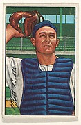 Matt Batts, Catcher, Detroit Tigers, from Picture Cards, series 6 (R406-6) issued by Bowman Gum