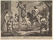 Hudibras Triumphant (Twelve Large Illustrations for Samuel Butler's Hudibras, Plate 4)