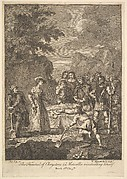 The Funeral of Chrysostom (Illustrations for Don Quixote)