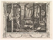 The Fellow 'Prentices at their Looms (Industry and Idleness, plate 1)