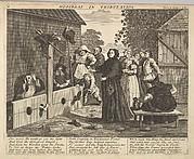 Hudibras in Tribulation (Plate 6: Illustrations to Samuel Butler's Hudibras)