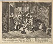 Hudibras Catechized (Plate 9: Illustrations to Samuel Butler's Hudibras)
