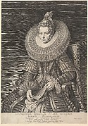 Portrait of Isabella Clara Eugenia, Governess of Southern Netherlands