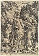 Minerva & Mercury Arming Perseus