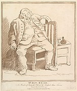 Mr. Ben Read: A Member of Hogarth's Club at the Bedford Arms Tavern