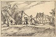 Farms in a Village from Regiunculae et Villae Aliquot Ducatus Brabantiae