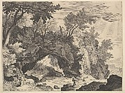 Rocky Landscape with the Stigmatisation of Saint Francis