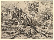 Tobit from Landscapes with Biblical and Mythological Scenes