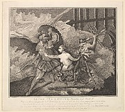 Satan, Sin and Death (Paradise Lost, Book II)
