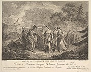 Arrival of Telemachus at the Island of Calypso
