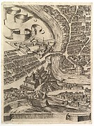Plan of the City of Rome. Part 8 with the Castel Sant'Angelo