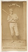 Edward M. Daily, Pitcher, Philadelphia, from the Old Judge series (N172) for Old Judge Cigarettes