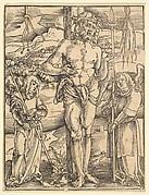 Man of Sorrows from Ulrich Pinder, Speculum Passionis Domini Nostri Ihesu Christi