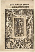 Title Border with Man in Armor in Center