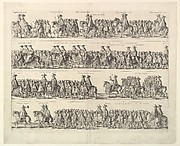 Coronation Procession of Charles II Through London