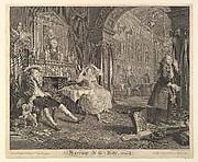 Marriage A-la-Mode, Plate II