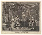 Marriage A-la-Mode, Plate III