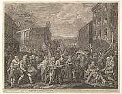 The March to Finchley (A Representation of the March of the Guards towards Scotland in the Year 1745)
