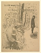 La Vie Muette, Program for the Théâtre de l'Oeuvre, November 1894