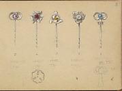 Designs for Five Stickpins
