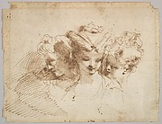Three Female Heads