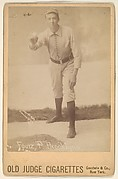 David Luther Foutz, Pitcher, Brooklyn, from the series Old Judge Cigarettes
