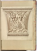 Capital of a Column with Anthemion