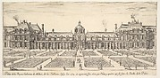 The palace of Catherine de Medici, called the Tuilleries, from 'Various views of remarkable places in Italy and France' (Diverses vues d'endroits remarquables d'Italie et de France)