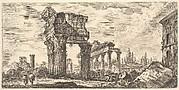 Temple of Jupiter Tonans (Jupiter the Thunderer). 1. Temple of Concord. (Tempio di Giove Tonans. 1. Tempio della Concordia.)