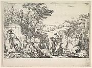 The Village Festival (Fête de village dans la campagne romaine)