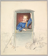Prince Paul Clemens von Metternich as a Child, Surrounded by Toys